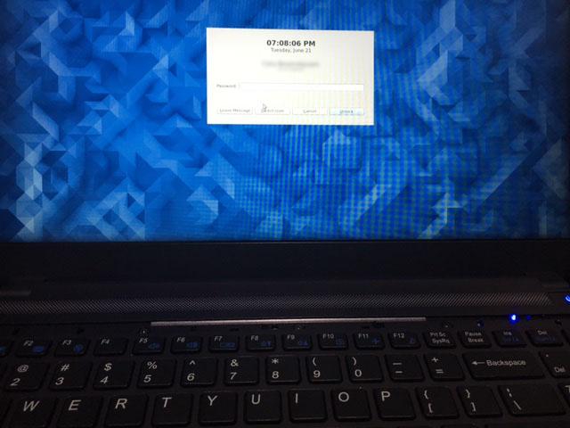 keyboard-booted